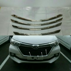 Cover Grill Grand New Avanza Review Toyota Veloz Jual List Radiator Great Xenia