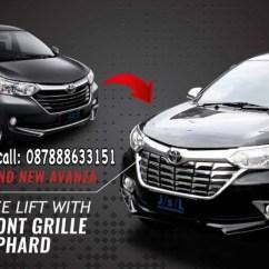 Cover Grill Grand New Avanza Immobilizer Jual Depan Chrome Model Alpard Dan Great Xenia