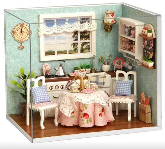 Jual Shabby Chic Diningroom 3d Miniature Doll House Kota Surabaya Ziphora Kids Tokopedia
