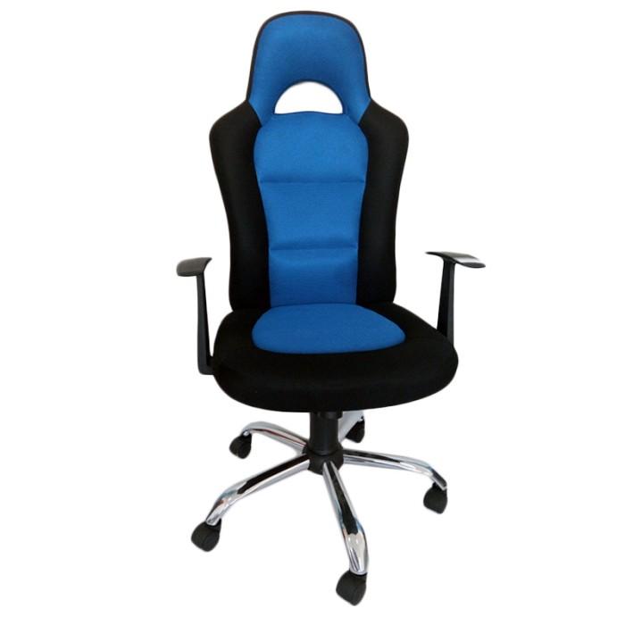desk chair jysk master gym reviews jual kursi gaming snertinge 61x66x123cm black blue office indonesia os tokopedia