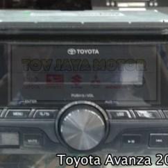 Audio Grand New Avanza Filter Bensin Jual Tape Tip Radio Head Unit Ori E 2016 Second