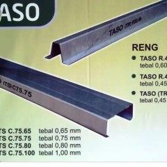 Kanopi Baja Ringan Taso Jual 0 75mm Jakarta Selatan Maestro Atap