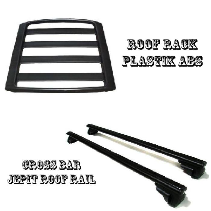 roof rail grand new avanza agya g manual trd jual rack cross bar jepit mobil toyota