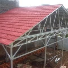 Rab Kanopi Baja Ringan Atap Genteng Metal Dhigjaya Steel
