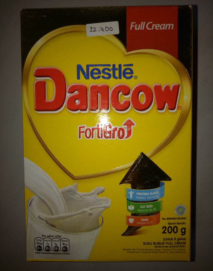 Masker Susu Dancow Full Cream : masker, dancow, cream, Dancow, Fortigro, Cream, Bandung, Mic&Melz_Olshop, Tokopedia