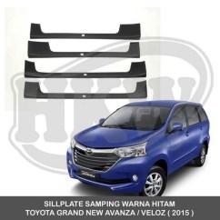 Grand New Veloz Warna Hitam All Alphard Executive Lounge Jual Sillplate Samping Toyota Avanza 201