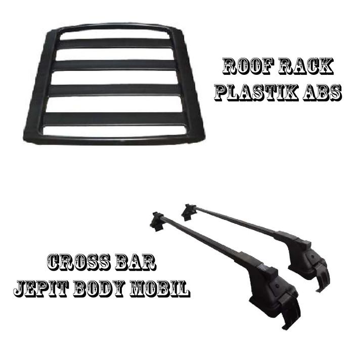 roof rack grand new avanza toyota veloz 2015 jual cross bar jepit body mobil
