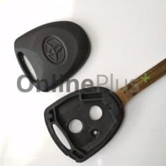 Remote Grand New Avanza Modifikasi Putih Jual Casing Kunci Tempat Mobil Toyota Veloz