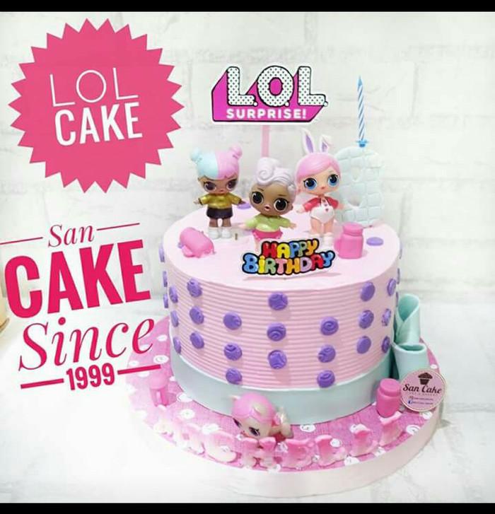 Jual Lol Birthday Cakes Dki Jakarta San Cake Jakarta Tokopedia