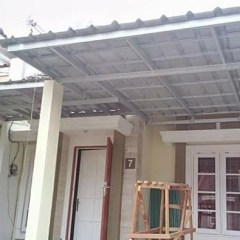 Rangka Kanopi Jendela Baja Ringan Jual Atap Spandek Minimalis Kab Bogor