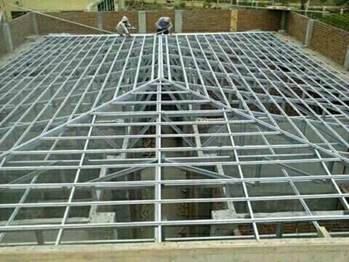 jasa pemasangan baja ringan di depok jual menerima rangka atap dan kanopi