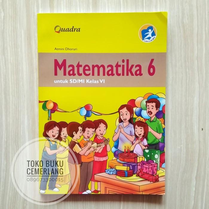 Sedangkan buku siswa matematika k13 kelas 5 merupakan penyajian dalam tahapan pembelajaran 5 m seperti mengamati menanya menalar mencoba dan mengkomunikasikan. Jual BUKU MATEMATIKA KELAS 6 SD KURIKULUM 2013 PENERBIT