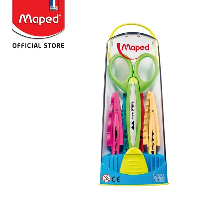 Promo Maped Craft Scissors With 5 Blades Jakarta Timur Maped Official Store Tokopedia