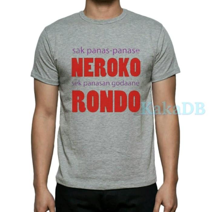 Jual Kaos Tshirt Baju Kata Kata Lucu Humor Bahasa Jawa Berkualitas