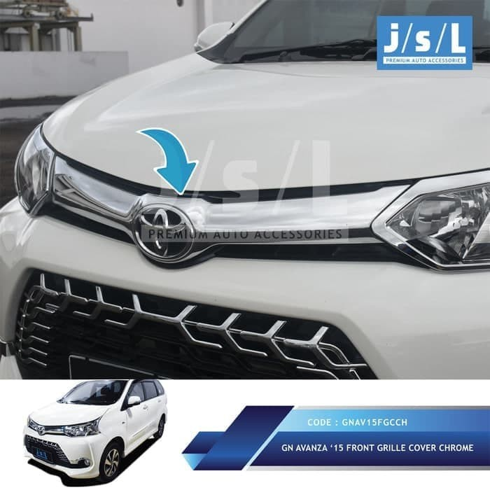 aksesoris grand new avanza ground clearance all kijang innova jual obral xenia 2015 hood molding cover grill