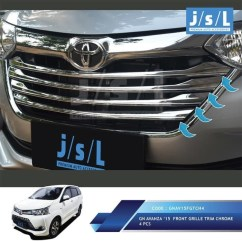 Aksesoris Grand New Avanza 2015 Brand Toyota Camry For Sale In Ghana Jual Obral Xenia List Grill Radiator Cover