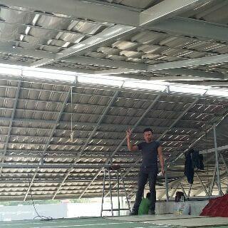 kanopi baja ringan genteng pasir jual rangka atap metal kab bandung