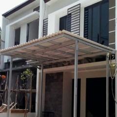 Model Kanopi Atap Baja Ringan Jual Rangka Double Box Alderon Kab
