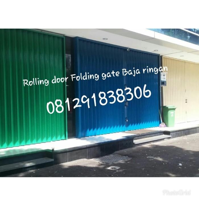 baja ringan murah di marunda jual rolling door folding gate jakarta selatan