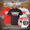 Jual Spesial Kaos Indonesia Kita Saudara Custom Nama Grup Daerah