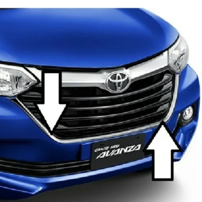 bemper grand new veloz audio avanza jual list bumper bram gondrong tokopedia