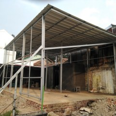 Kanopi Baja Ringan Vs Besi Hollow Jual Galvanis Anti Karat Kab Bandung