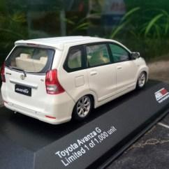 Grand New Avanza Ceper Kekurangan Tipe E Jual Diecast Miniatur Mobil Toyota Veloz Skala 43 Auto2000 Putih