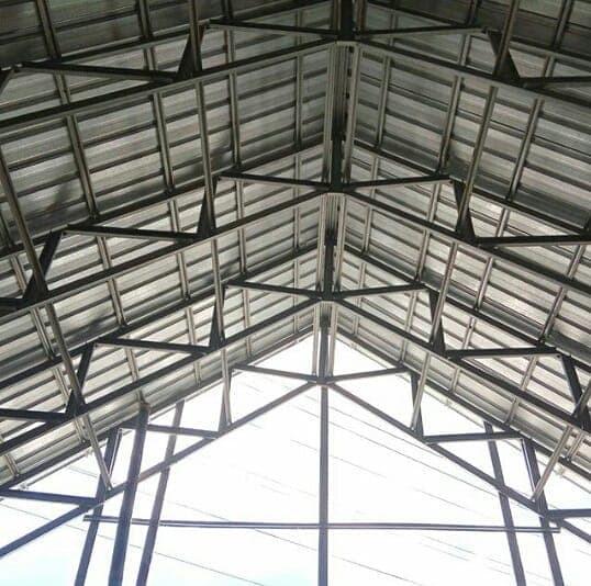 supplier baja ringan di makassar jual rangka atap kota toko reklame