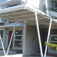Supplier Baja Ringan Di Makassar Jual Atap Kanopi Teras Kota Toko Reklame