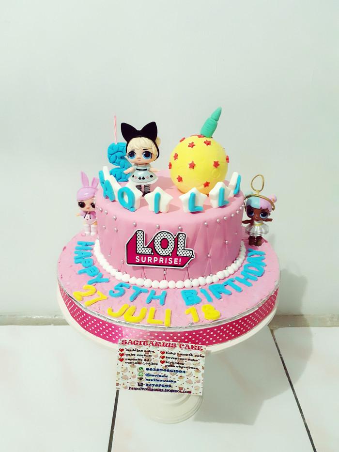 Jual Kue Ulang Tahun Lol Fondant Cake Jakarta Timur Novlauwcake