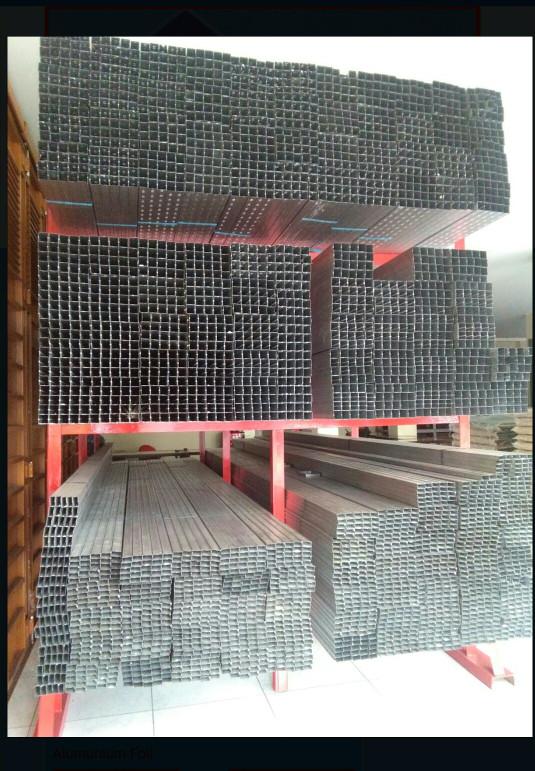 baja ringan kotak jual besi gypsum gipsum hollow atap ukuran 2x2