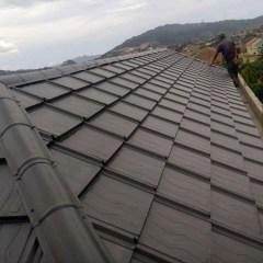Kanopi Baja Ringan Model Segitiga Jual Nok Genteng Metal Koko Roof Kota Bekasi Mutiara