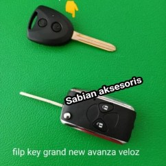 Flip Key Grand New Avanza All Kijang Innova Venturer 2018 Jual Casing Lipat Toyota Sabian