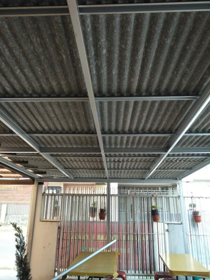 harga atap baja ringan asbes jual kanopi bajaringan kota tangerang selatan yoga