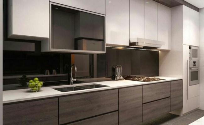 Jual Kitchen Set Minimalis Dengan Warna Hitam Kota
