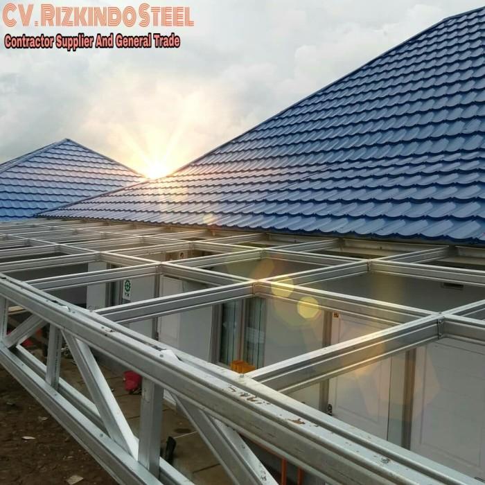 harga atap baja ringan asbes jual rumah rangka kab tangerang cv jaya