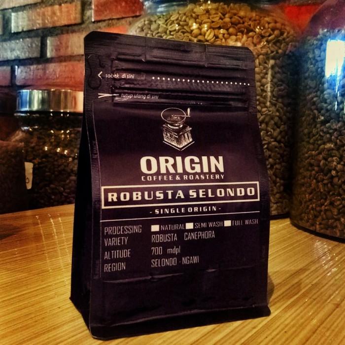 baja ringan murah ngawi jual kopi robusta 200gr selondo coffee seloondo dan