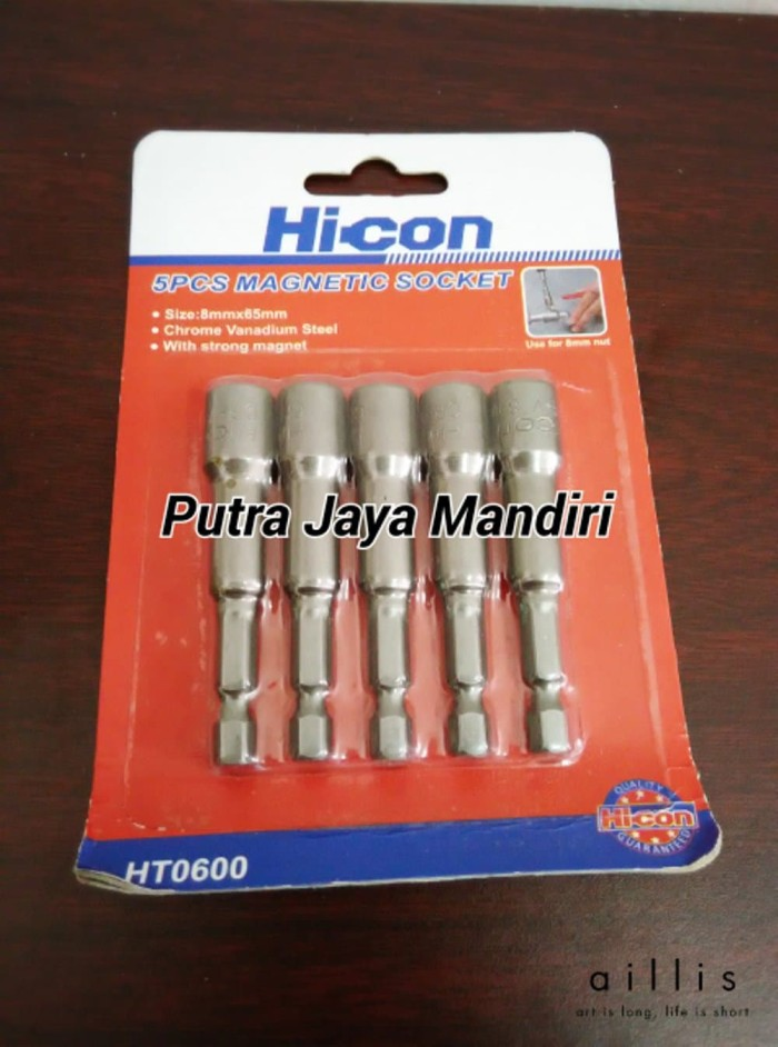 bor roofing jual magnetic nut socket mata 8mm hicon sep05g