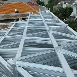 supplier baja ringan di makassar jual atap bangunan kota toko reklame