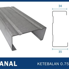 Dimensi Truss Baja Ringan Jual Canal C Tebal Full 0 75 Original Sni