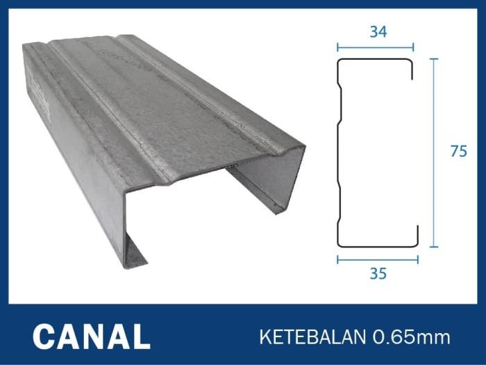 tebal kanal c baja ringan jual truss full 0 65mm kab
