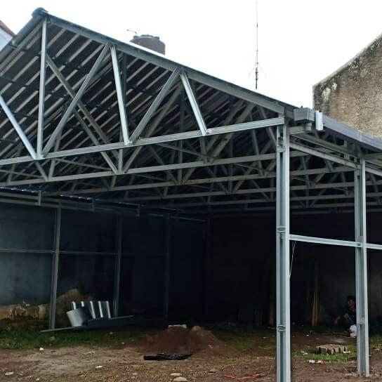 kontraktor baja ringan jakarta jual konstruksi atap spandek original kab bandung