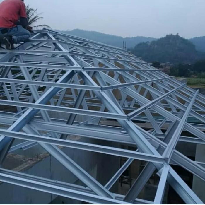 contoh atap baja ringan rumah minimalis jual kab bandung