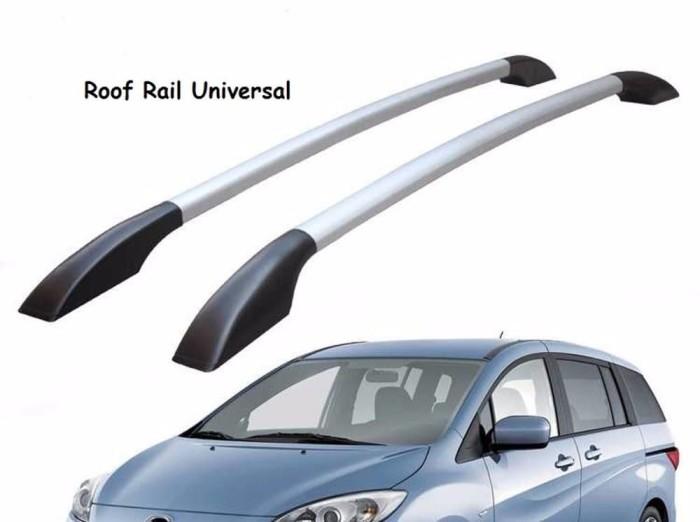 roof rail grand new avanza agya trd silver jual universal kaki 2 aluminium kilap great ne