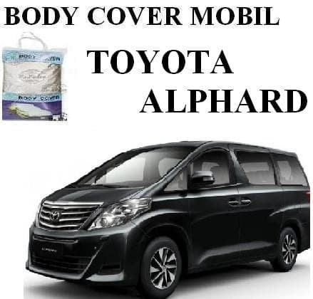 harga all new vellfire yaris s 1500cc trd body cover sarung mobil toyota alphard 2018