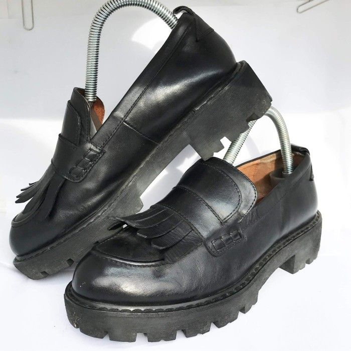 Women Leather Slip On Shoes