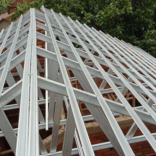toko baja ringan cianjur jual pemasangan rangka atap kab