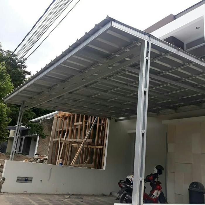 canopy baja ringan minimalis jual kanopi atap zingcaelum original anti