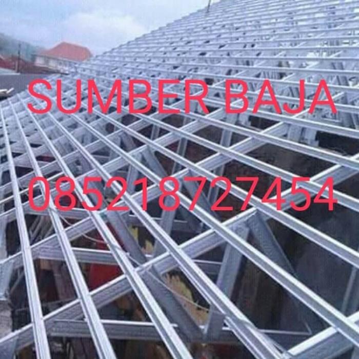 jarak reng baja ringan kanopi jual renopasi atap rumah dan 085218727454