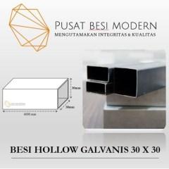 Harga Baja Ringan Hollow 3x3 Jual Besi Galvanis 1 2mm 5 03kg 30 X Mm Kota